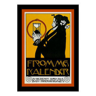 Fromme's Calendar ~ Vintage Advertising Poster