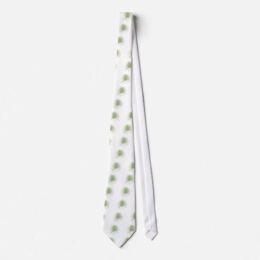 Frondas de hoja de palma tropicales corbata personalizada