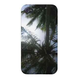 Fronds in the Sun iPhone 4 Covers