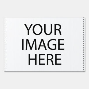 Do it yourself yard lawn signs zazzle front and back template sign solutioingenieria Images