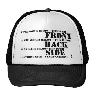 Front, Back and Side Trucker Hat