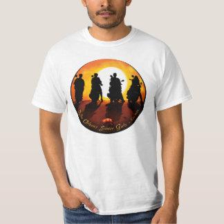 "(front & back) NOSG ""Spaghetti Western"" & Slogan T-Shirt"