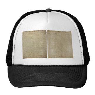 Front & Back ORIGINAL Declaration of Independence Trucker Hat