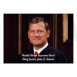 Front: Chief Justice John G. Roberts Cards