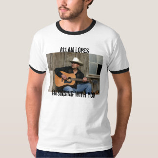 Front Cover, Allan LopesI'm Singing With You T-shirt