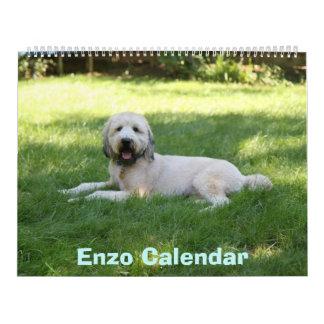 Front Cover, Enzo Calendar