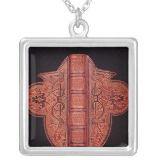 Front cover of a Book of Hours in Latin Silver Plated Necklace