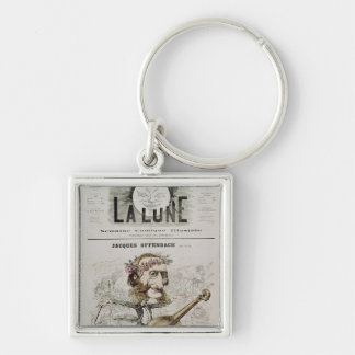 Front cover of 'La Lune' Keychains