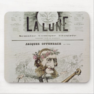 Front cover of 'La Lune' Mouse Pad