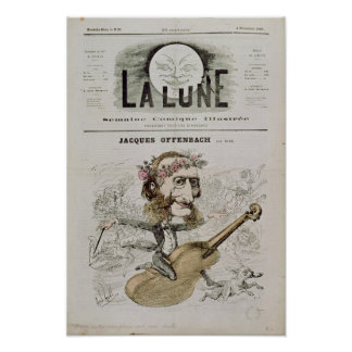 Front cover of 'La Lune' Poster