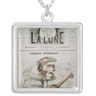 Front cover of 'La Lune' Silver Plated Necklace