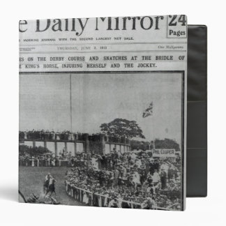 Front cover of 'The Daily Mirror' 3 Ring Binder