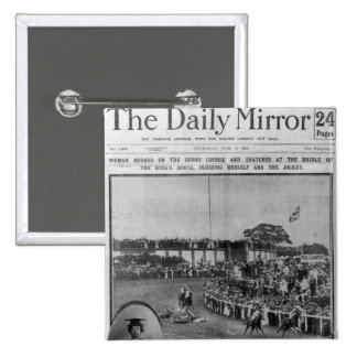 Front cover of 'The Daily Mirror' Button