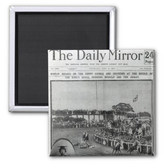 Front cover of 'The Daily Mirror' Magnet