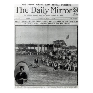 Front cover of 'The Daily Mirror' Postcards
