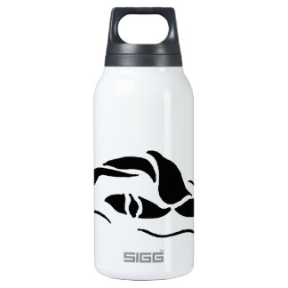 Front Crawl Swimmer Insulated Water Bottle
