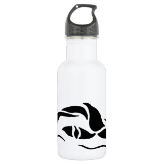 Front Crawl Swimmer Stainless Steel Water Bottle