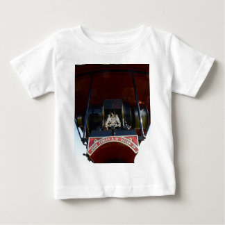 Front Detail Traction Engine Baby T-Shirt