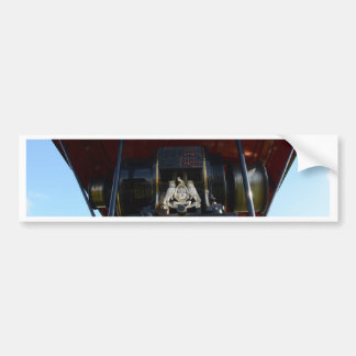 Front Detail Traction Engine Bumper Sticker