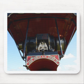 Front Detail Traction Engine Mouse Pad