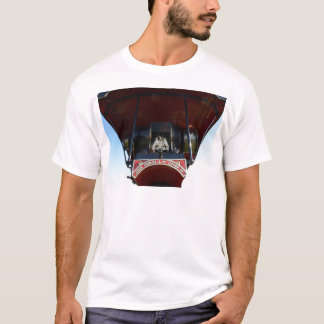 Front Detail Traction Engine T-Shirt