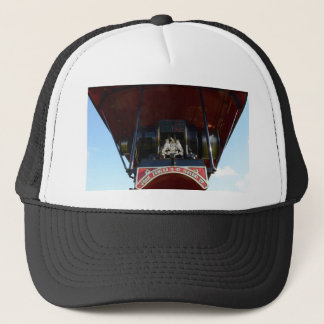 Front Detail Traction Engine Trucker Hat