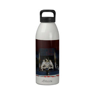 Front Detail Traction Engine Reusable Water Bottles