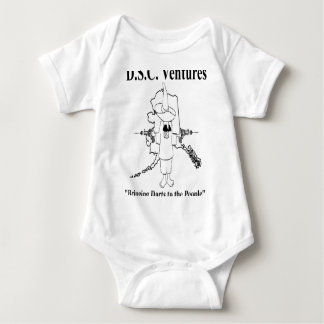 Front DSC Logo Baby Bodysuit