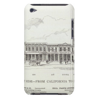 Front East side California and Sacramento iPod Touch Cases