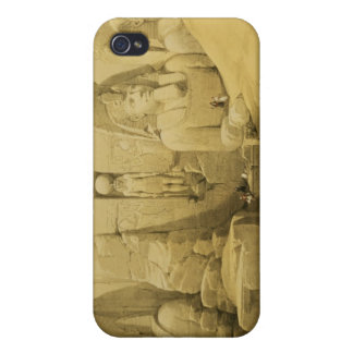 Front Elevation of the Great Temple of Aboo Simbel Case For iPhone 4
