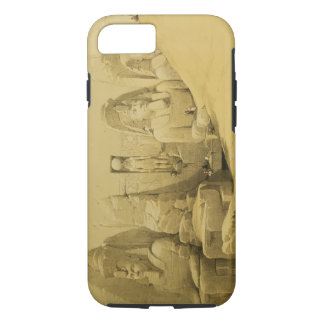 Front Elevation of the Great Temple of Aboo Simbel iPhone 7 Case