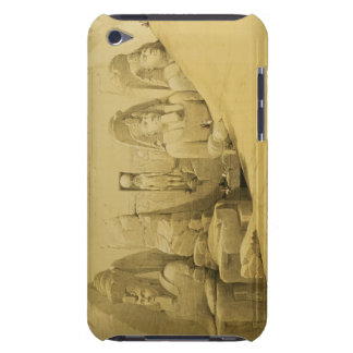Front Elevation of the Great Temple of Aboo Simbel iPod Case-Mate Case
