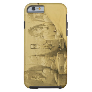 Front Elevation of the Great Temple of Aboo Simbel Tough iPhone 6 Case