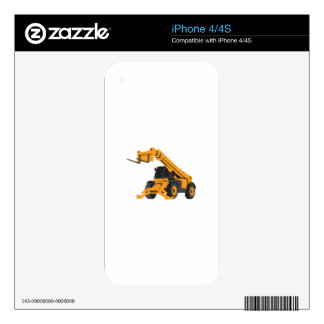 Front End Loader Decals For The iPhone 4S