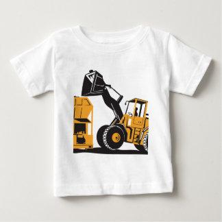 Front End Loader Digger Excavator Retro T Shirt
