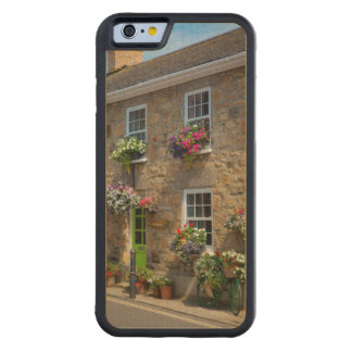 Front entrance to Smugglers Bed and Breakfast Carved® Maple iPhone 6 Bumper Case