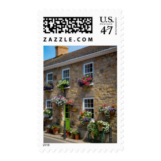 Front entrance to Smugglers Bed and Breakfast Postage Stamp