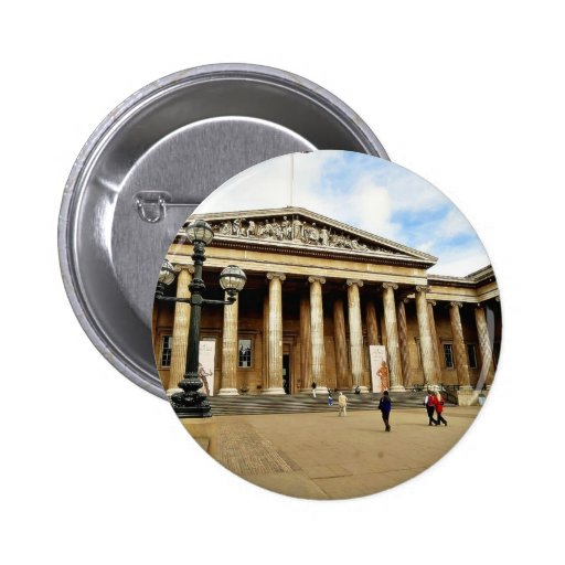 Front Entrance To The British Museum In London Eng Pins