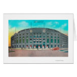 Front Entrance to Yankee Stadium View Greeting Card
