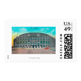 Front Entrance to Yankee Stadium View Postage