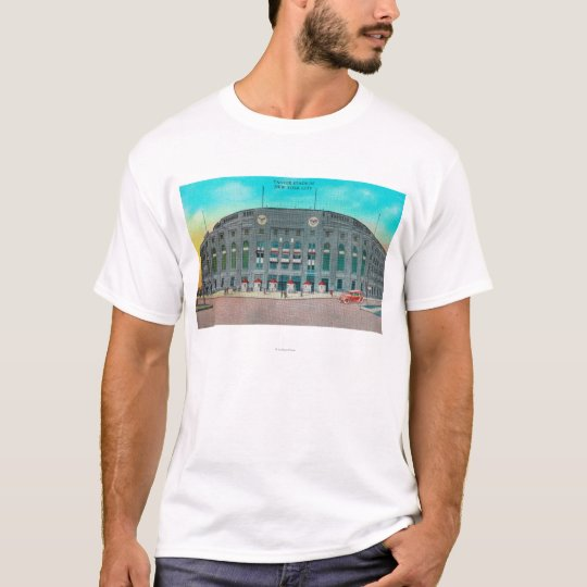 Front Entrance to Yankee Stadium View T-Shirt