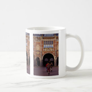 Front facade of the Neo-Gothic Rijksmuseum, Amster Mug