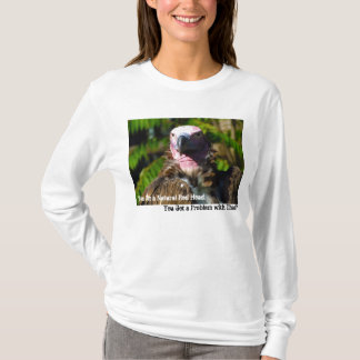 Front Facing Turkey Vulture Closeup T-Shirt