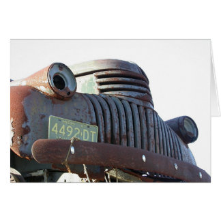Front Grill, 54 Chevy Greeting Card