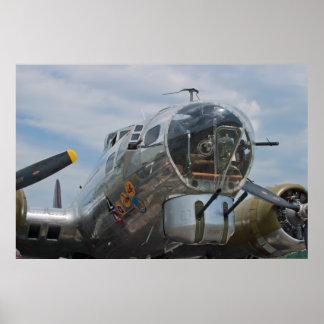 Front Gunner Shot B-17G SuperFortress Poster
