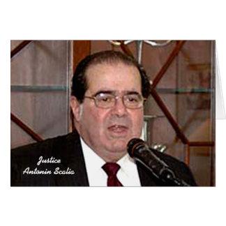 Front: Justice Antonin Scalia Card