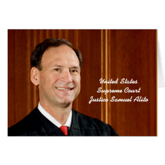 Front: Justice Samuel Alito Card
