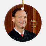 Front: Justice Samuel Alito Ornaments