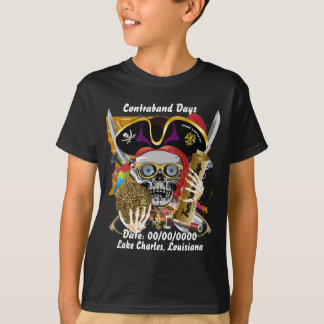 Front Lake Charles All Styles Kids Dark View Hints T-Shirt