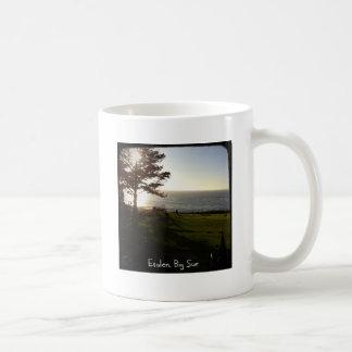 Front lawn at Esalen, Big Sur Coffee Mug